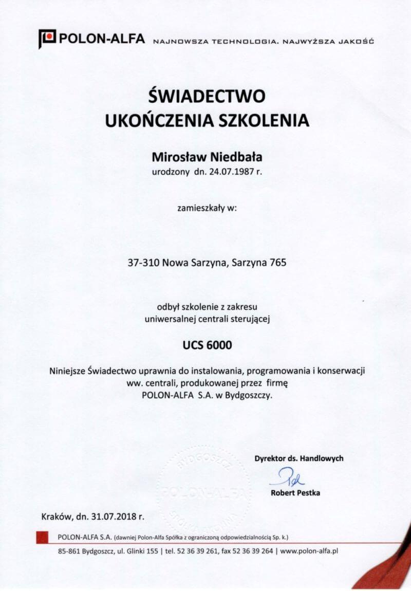 Uniwersalna Centrala Sterująca 6000 USC 6000