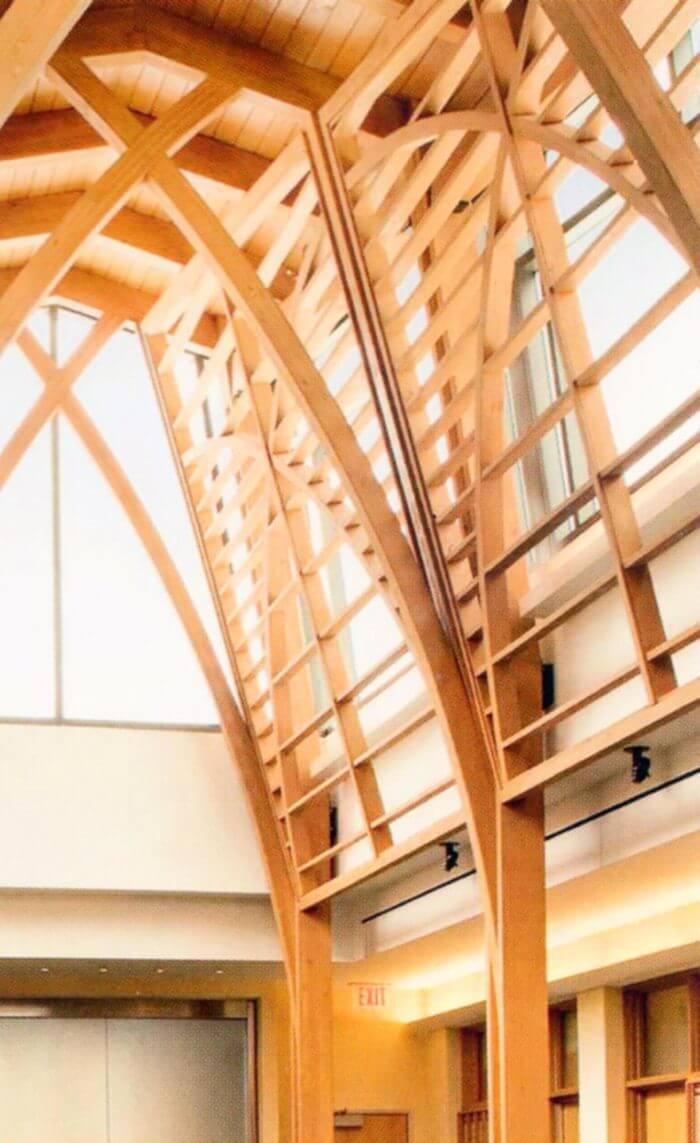 Odporność ogniowa konstrukcji drewnianych